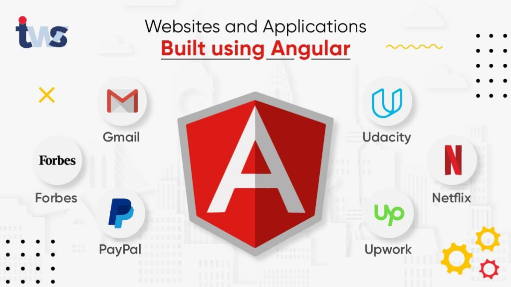 websites built with angular